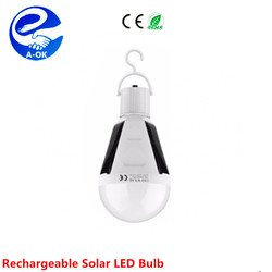 portable emergency solar lighting system led light bulb for home ,camping,fishing