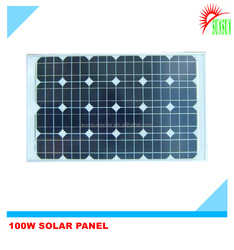 Best quality mono solar panel 100 watt
