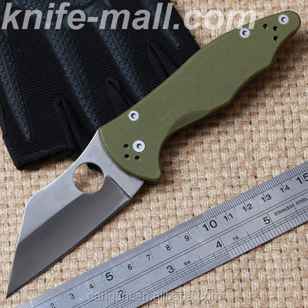 Folding tactical Knife <strong>G10</strong> CPM S30V steel Camping Hunting MULTI Survival Knives Pocket Outdoor EDC Tools