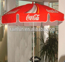 Promotional beach umbrella custom logo printing