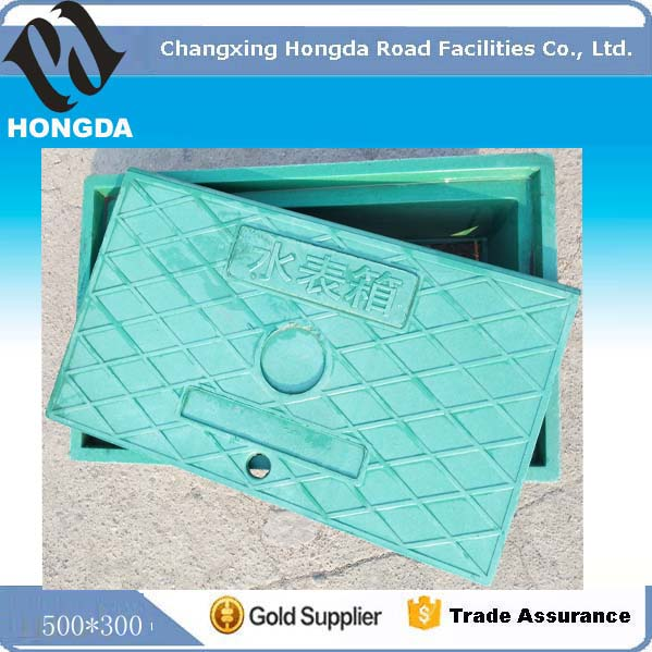 Composite Water Meter Manhole Cover / Water Well Cover