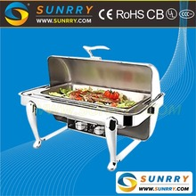 Commercial Stainless Steel Buffet Chafing Dish Food Warmer and Buffet Utensil Machine