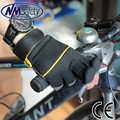 NMSAFETY fashion motor bike cool glove/cycling gloves/sport gloves using diving cloth
