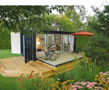 China Movable Prefab Modular Luxury Container Home for Sale