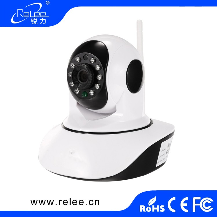 wide-angle security wi-fi hd ip camera with additional sensors