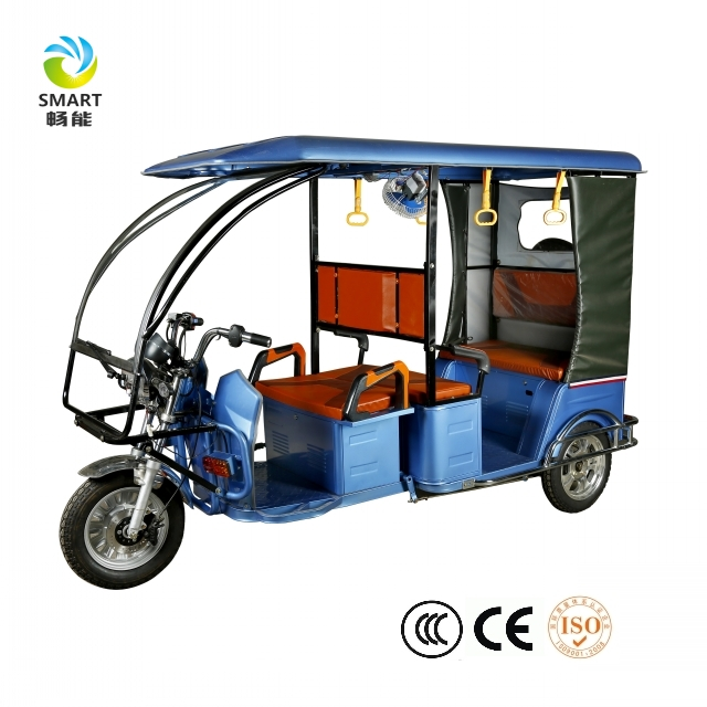Hot sale Rickshaw 3 wheel taxi passenger electric tricycle/tuktuk