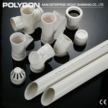 China Polyethylene Plastic pipe Polygon Pvc Tee Fittings