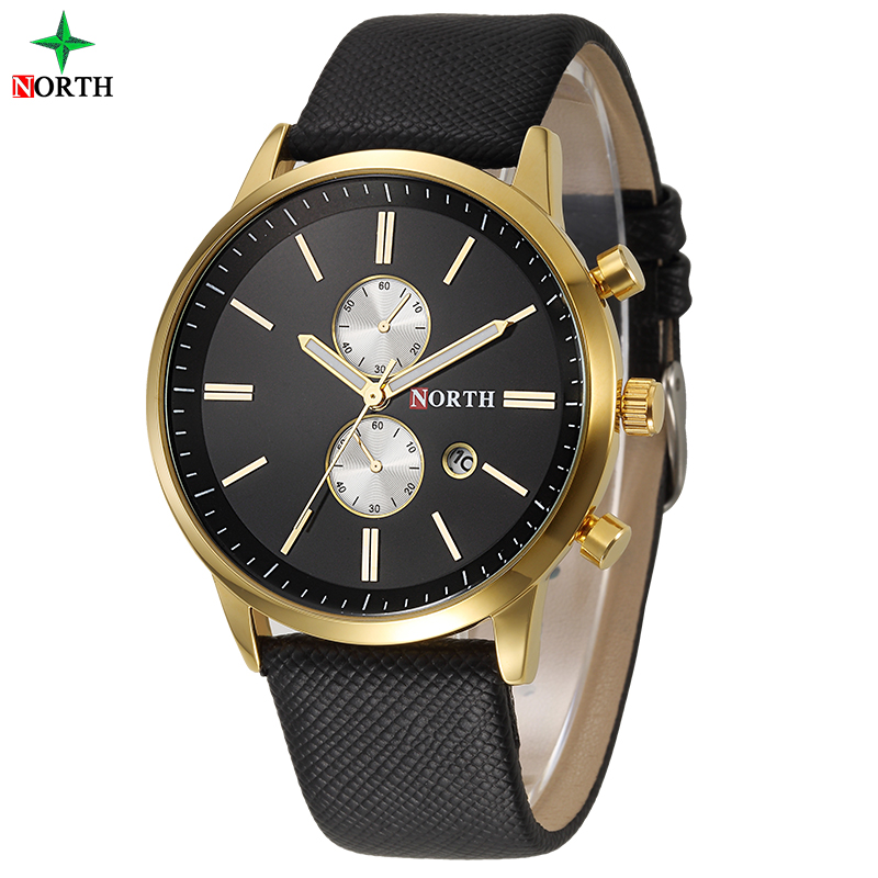 Hot selling waterproof 3ATM with gold plated sets special NORTH brand custom made watch dials