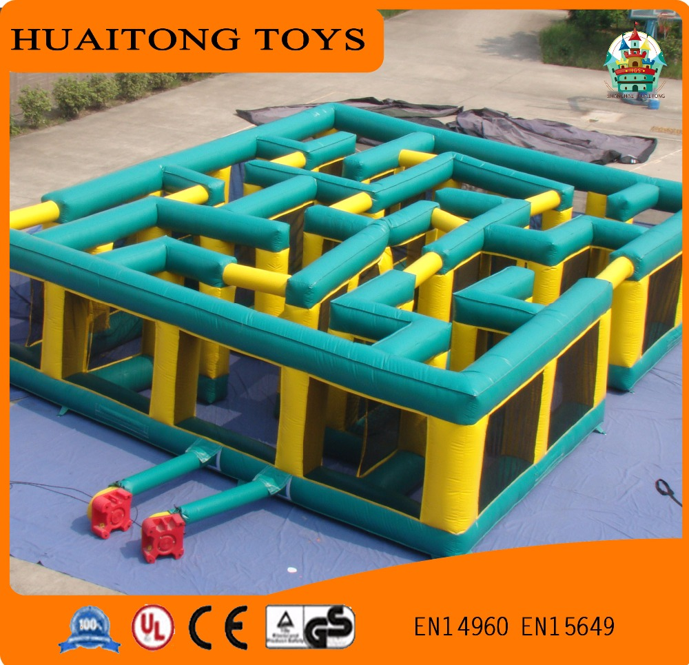 New design Giant inflatable indoor outdoor maze/inflatable laser maze for sale