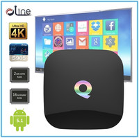 Promotional price Android5.1 Q-box set top box wifi kodi tv box