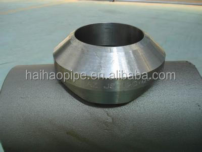carbon steel saddle pipe fittings from hebei haihao