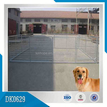 Galvanized Large Steel Dog Kennel