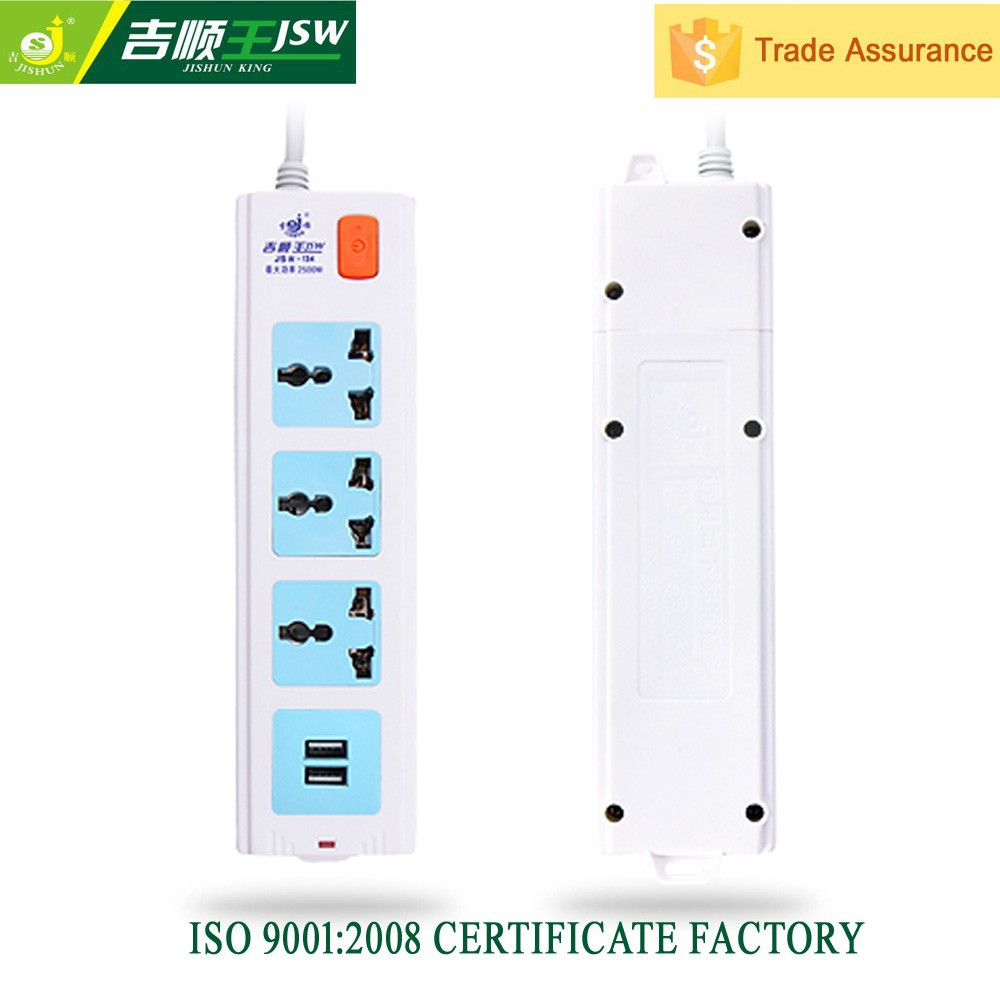 With 2 USB ports universal discount double 13a electrical switch socket outlets