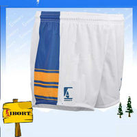 SUB-44-2 Sublimation printing white football shorts