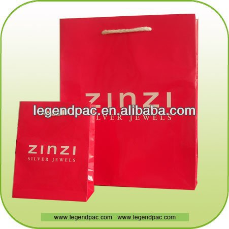 2016 promotional paper shopping bag,Super market shopping bag