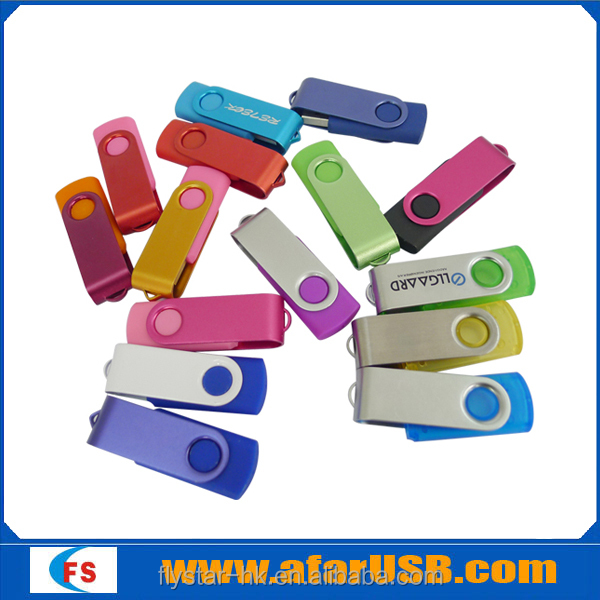 2016 Best selling swivel promotion usb drive ,twist usb drive with logo design