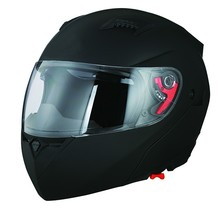 Dual visor flip up DOT approved unique motorcycle helmet with custom decals
