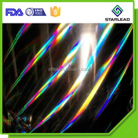 Splendid hologram patterns holographic metallic polyester silver PET Film