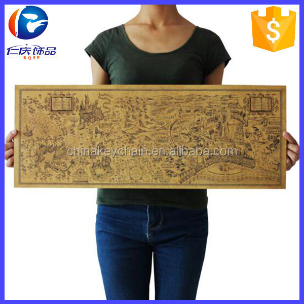 Hot sale Famous view Harry Potter Magic world map