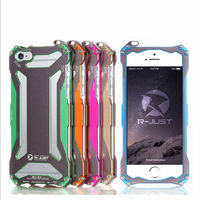 2014 hot selling popular brand phone accessories super protect luxury metal phone case