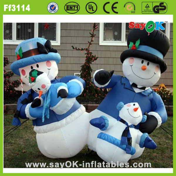 outdoor giant inflatable Christmas decorating stuffed animal stocking price for sale