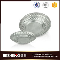 Factory directly Stainless steel Rectangular food serving plate