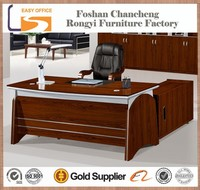Hot selling model MDF wood modern elegant office table/desk