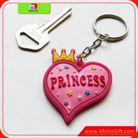 Cheap high quality custom color print shape PVC soft pvc motorcycle keychains