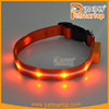 2015 promotional dog glowing collar TZ-PET6100U led safe pet collar lighting pet collar