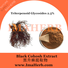 Top Grade EP Standard china black cohosh extract triterpene glycosides