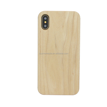 new arrivals 2018 Real Wooden Mobile Phone Case for iPhone X