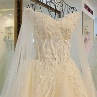 RP16019 Long trail real made to measure dresses from china wedding gowns and bridal dress 2017 manufacture wedding dress