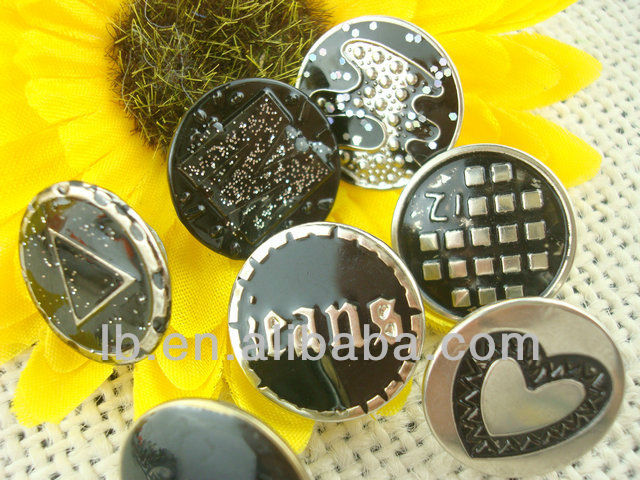 high quality metal tack buttons for jeans