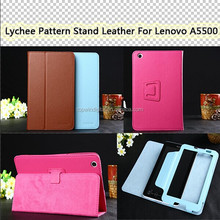 8 Inch Tablet Case, Folio PU Stand Leather Case For Lenovo A5500