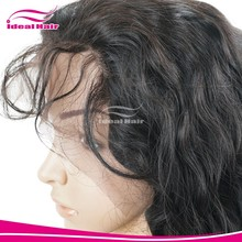 Cheap price in stock full lace curly bob wig