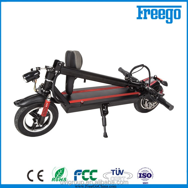 China Manufacturer 2016 new electric scooter,small wheel folding bicycle for adults
