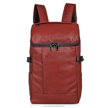 JMD New Casual Leather Bookbag Schoolbag Laptop Backpack 2004X