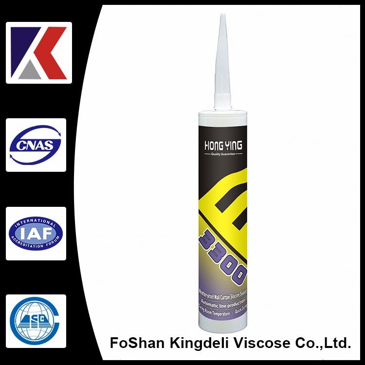 Transparent Neutral Silicone Sealant room temperature curing