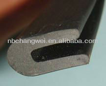 full range of sizes U shaped rubber seal EPDM rubber seal
