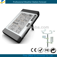 rf 433mhz wireless weather station clock with PC Connect and RCC clock