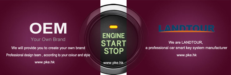 Prado smart key Keyless start push start engine for prado 2012-2014