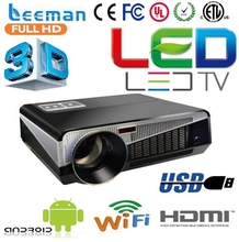 led lamp mini dlp android projector pocket lcd projector 3d led projector 1920*1080