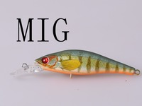 lifelike colour minnow 3d eyes floating/sinking fresh water free fishing tackle samples hard plastic lure