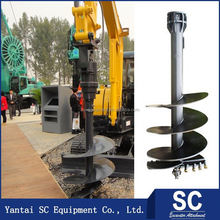 Famous Brand For Mini Digger Excavator Post Hole Digger
