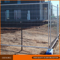 Austrilian style metal wire welded temporary mesh fence panel