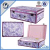 2015 New Luggage Case Purple Hot sale Packing case Wholesale Cotton Quilt Gift Case Aluminum tool case