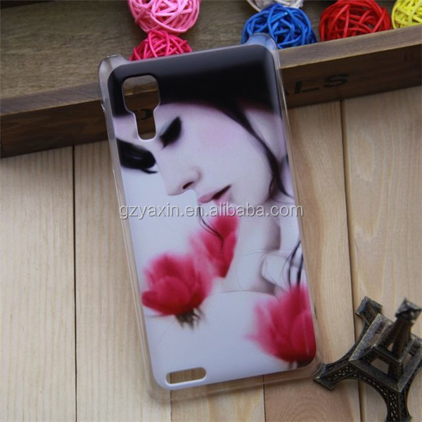 wholesale High quality Cartoon Lovely Girl Design PC Hard Skin Back Cover Shell Protective Case For Lenovo P780