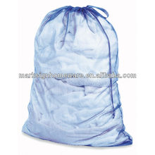 Heavy Duty Mesh Laundry Bag with Drawstring Closure
