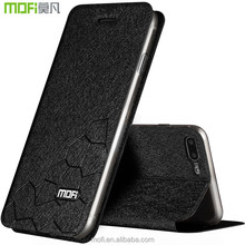 MOFi original smartphone case for iPhone 8/8 plus,flip leather back full protect silicone case cover for iPhone 8/8 plus