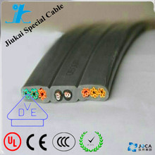 spring retract cable reel round crane cable